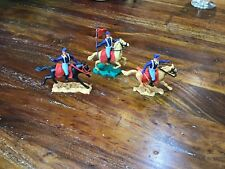 54mm plastic swoppet Mounted us cavalrymen by timpo