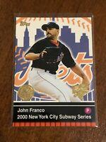 2000 World Series Topps Baseball Base Card #22 - John Franco - New York Mets