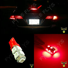1x 3rd brake light red LED high mount upper center stop bulb lamp third R1x1
