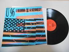 """LP Pop U96 U 96 - I Wanna Be A Kennedy 12"""" (3 Song) POLYDOR REC"""