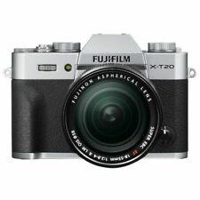 Near Mint! Fujifilm X-T20 with XF 18-55mm R OIS Silver - 1 year warranty