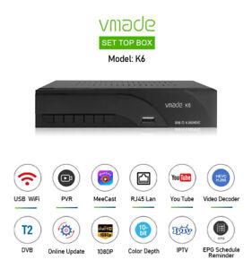 NEW Full HD Freeview Set Top Box 1080P RECORDER Digital TV Receiver UK Plug