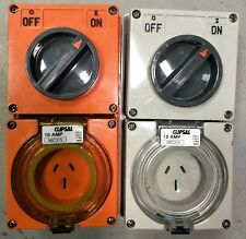 15A 250V clipsal captive outlets