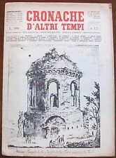 CRONACHE D'ALTRI TEMPI - N.125, 1964 - Il Lotto nella Roma Papale*