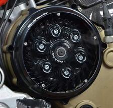 DUCATI Kupplung Kupplungsdeckel geschlossen Deckel schwarz Plexyglas NEU
