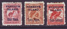 Penhryn Island 1903 SC 10-12 MH Set Bird