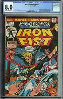 Marvel Premiere # 15 CGC 8.0 ow/wp 1st app. & Origin of Iron Fist
