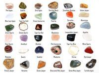 36 Steine Edelsteine Sammlung Set Einzigartige Kristalle Geschenk