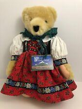 "Alice Vanderbear Eine Kleine Mountain Climber Plush Bear 17"""