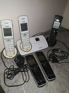 UNIDEN ELITE 9135 CORDLESS WITH 5 HANDSETS BLUETOOTH PHONE AND ANSWERING MACHINE