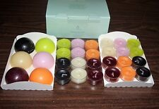 Partylite Aroma Melts & Tealight Sampler Box #995022 - Nib!
