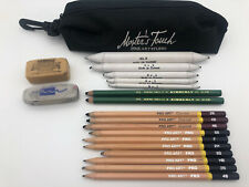 Pouch with Art Drawing Supply Pencils Erasers |721