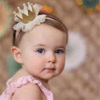 Bébé Brillant Princesse Diadème Cheveux Bande Bandeau Enfantscouronne Élastiqu F