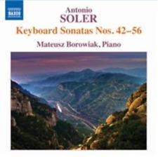 Antonio Soler: Keyboard Sonatas Nos. 42-56  CD NEW