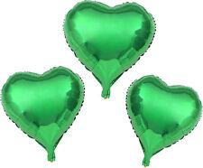 Folienballon 18 Zoll 45 cm Heliumballon Herz verschiedene Farben , Rosa Schwarz