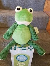 "Scentsy Buddy 15"" RIBBERT THE FROG Plush No Scent Pak Stuffed Animal"