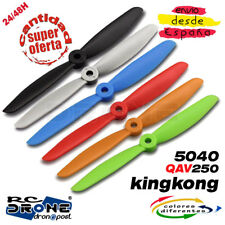 KingKong 5040 Hélice RC Quadcopter. Drone hélice QAV250 RC Helice Propellers
