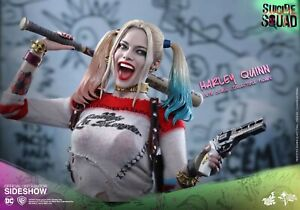 HARLEY QUINN 1:6 Scale Figure Hot Toys 9027751 Sideshow Margot Robbie NIB SEALED