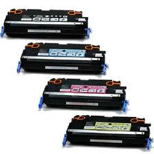 4 x Toner f. HP Color Laserjet 502A/503A 3800 CP3505 Q7580A -83A