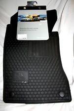 2004 + 2005 Mercedes E320 (4Matic) Rubber Floor Mats - FACTORY OEM ITEMS- BLACK