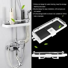 Bathroom Pole Shelf Storage Shelf Shower Caddy Rack Organiser Tray Holder