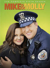 Mike & Molly ~ Complete 5th Season 5 Five ~ BRAND NEW 3-DISC DVD SET