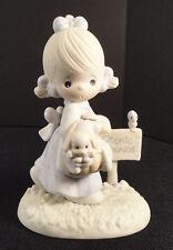 Precious Moments Figurine Calendar Girl July 1988 110051 Enesco Vtg