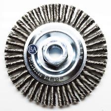 """Wire ZORO SELECT 66252838561 Wire Wheel Brush,0.0118/"""" dia"""