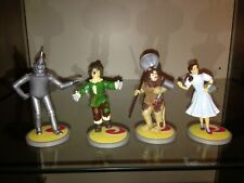 Vintage Collectible Wizard of Oz Set Of 4 1998 Turner Entertainment Enesco