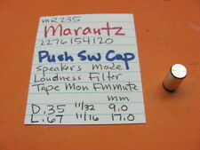 MARANTZ 2276154120 PUSH SWITCH CAP MR235 STEREO RECEIVER