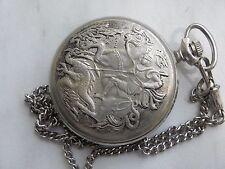 Rare MOLNIJA Russian pocket watch Saint George