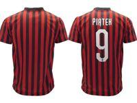 Trikot Piatek Mailand 2020 Offizielle Geteilt 2019 Anzahl 9 Neu Anzahl Neun