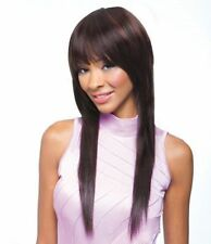 Monofilament Cap Long Straight Wigs