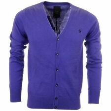 G-Star Men's Y Neck Button-Front Jumpers & Cardigans
