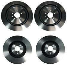 Brembo Front and Rear Brake Disc Rotors Coated Kit For Ford Mustang Shelby GT500