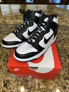 Nike Dunk High Panda GS size 6.5Y IN HAND!!!