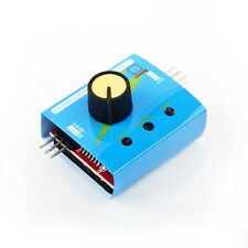 Multi Servo Tester 3CH ECS Speed Controler Power Channels CCPM Meter F3