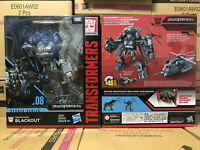 Transformers Studio Series Voyager SS08 Blackout Action Figure Toy New