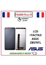 ECRAN COMPLET LCD+VITRE TACTILE NOIR ASUS ZENFONE MAX PLUS M1 ZB570TL X018D