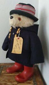 "Vintage Original Gabrielle Designs 19"" Paddington Bear 1972 Made In England"