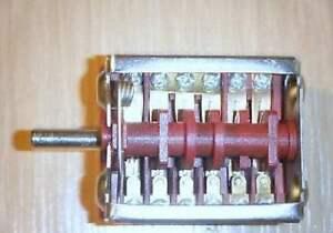Gala Backofenschalter Herdschalter EH60410  TE40516  BO40516  TE1472 EN60335-2-6