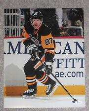 Sidney Crosby Signed Penguins Retro Jersey 11x14 Photo EXACT Proof JSA COA