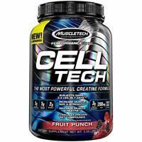 MuscleTech CELL TECH Best Creatine Powder Formula HCI Fruit Punch Micronized 6lb