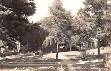 Walhalla Michigan Barothy Lodge Dining Hall Real Photo Antique Postcard K24523