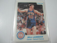 1985-86 Star Co Detroit Pistons Factory Sealed Bagged Set: Bill Laimbeer, Thomas
