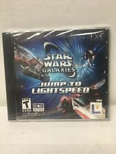 Star Wars Galaxies: Jump to Lightspeed (PC, 2004) Sealed