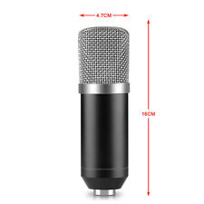 Neewer NW-700  Condenser Microphone+Anti-wind Foam Cap+Cable (Black)