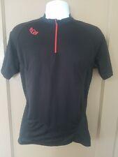 Royal Racing Men's Size S 1/4 Zip Cycling Jersey black VGC!!!