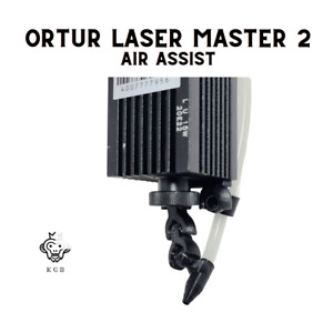Ortur Laser Master 2 Air Assist Upgrade For Your Laser + 6ft Tubing For Air Pump