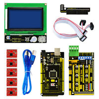 RAMPS 1.4 +Mega 2560 +5x A4988 Motor Driver + LCD 12864 Display Board 3D Printer